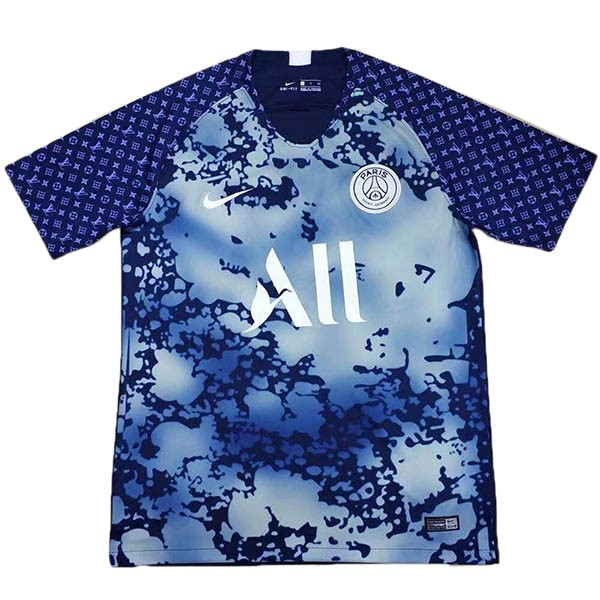 Camisetas Futbol Paris Saint Germain LV 2019 2020 Azul
