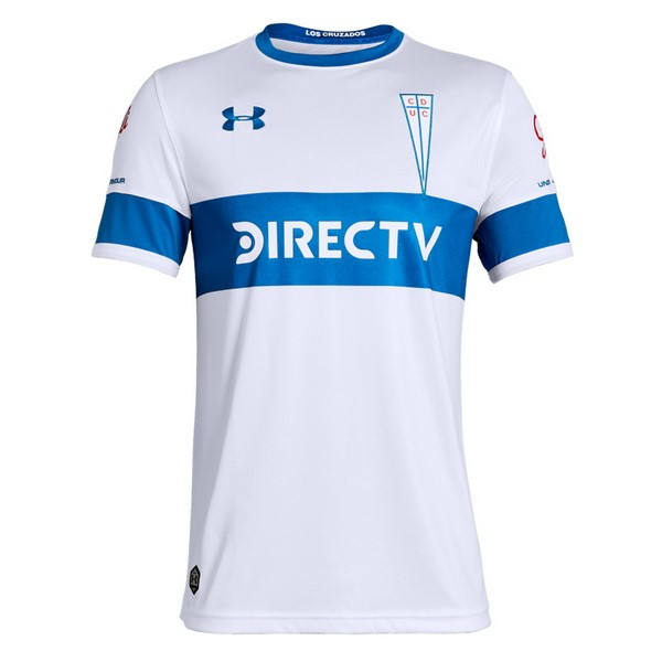 Camisetas Futbol CD Universidad Católica 1ª 2019 2020 Blanco