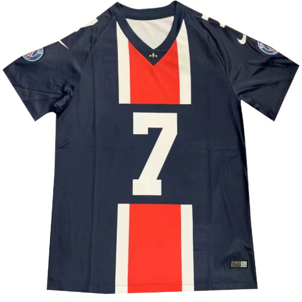 NFL Camisetas Futbol Paris Saint Germain MBAPPE NO.7 2019 2020 Azul