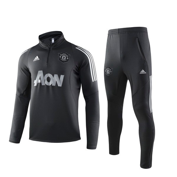 Chandal del Manchester United 2019-2020 Negro Gris