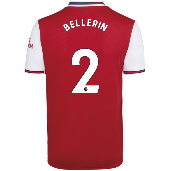Camisetas Futbol Arsenal NO.2 Bellerin 1ª 2019-2020 Rojo